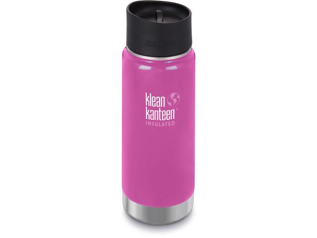 Klean Kanteen Wide Vacuum Insulated Bottle Café Cap 2.0 473ml wild orchid